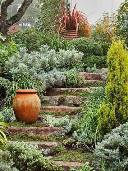 That is How to Make Garden Steps on a Slope 21